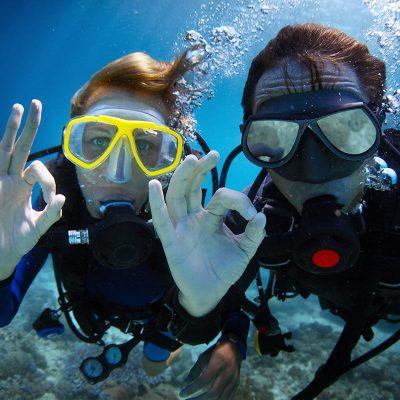 Couple Open Water