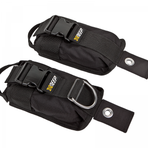 Xdeep backmount weight pockets
