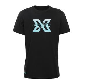 Xdeep wavy X tshirt